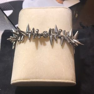EUC Stella and Dot Renegade Cluster Bracelet